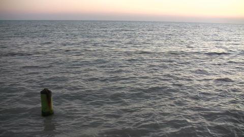 Buoy in Ocean Footage