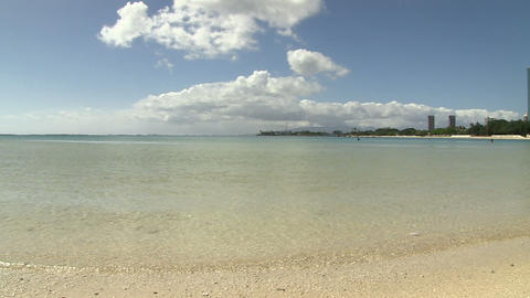 View of Pacific Ocean, Ala Moana Footage