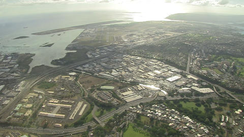 Honolulu International Airport stock footage