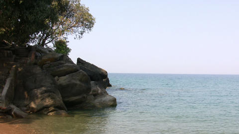 View of lake, Nkhata Bay, Lake Malawi, Malawi Footage