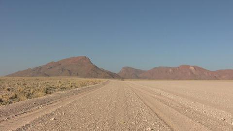 Sand in Namib Desert Footage