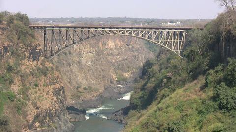Victoria Falls Bridge Footage
