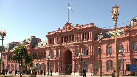 Casa Rosada Footage