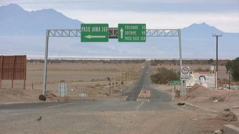San Pedro de Atacama, Chile Footage