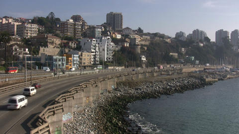 Vina del Mar, Chile Footage