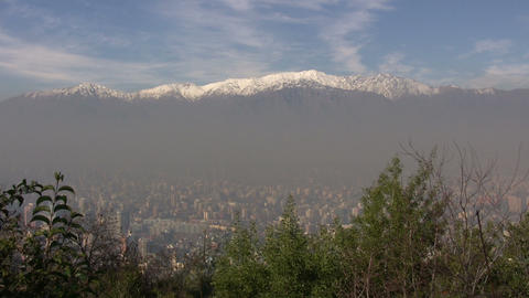 Santiago Cityscape, Chile Footage