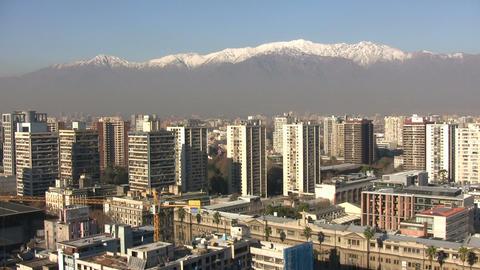 Santiago Downtown, Chile ビデオ