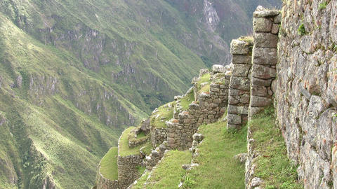 Ruins at Machu Picchu Footage