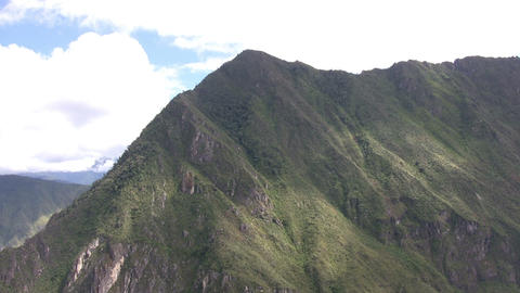 Mountains at Machu Picchu Footage