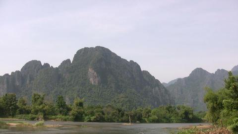 Vang Vieng, Laos Footage