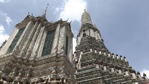 Wat Arun, Bangkok, Thailand Footage
