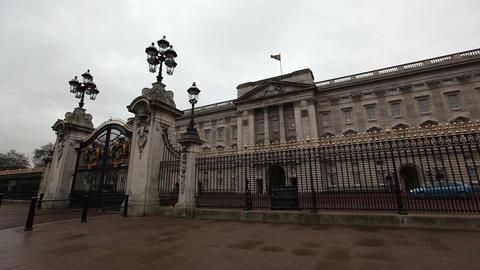 View of Buckingham Palace, London, United Kingdom Live Action