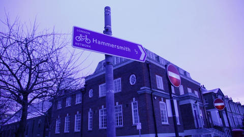 Low Angle View of Building, Hammersmith Live Action