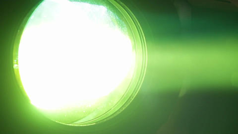 Reflector From A Party Multicolor 8516 stock footage