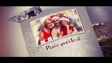 Christmas Album stock footage