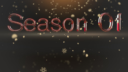 Season of giving holiday clip Animation