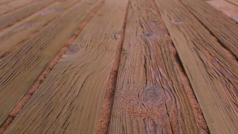 Old Wood Flooring Footage