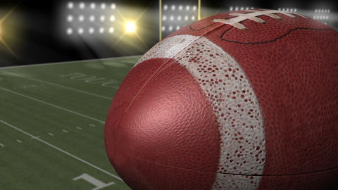 Football and Yardlines Animation