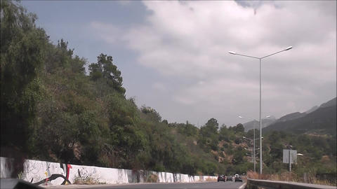 Northern Cyprus road 02 Footage