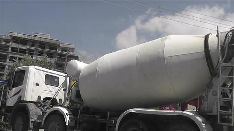 truck turns Footage