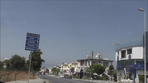 Northern Cyprus road 07 Footage