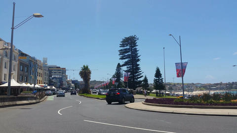 BONDI, SYDNEY, AUSTRALIA Stock Video Footage