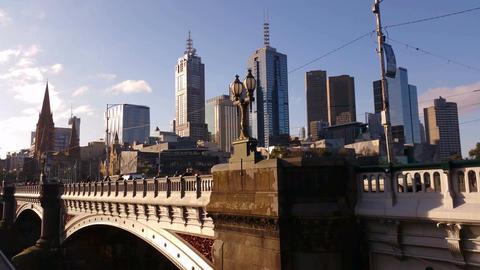 4K Melbourne City Victoria Australia 圖片