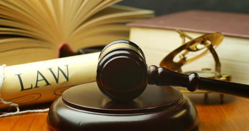 Lawyer attorney barrister law settlement in court magistrate judge gavel Live Action