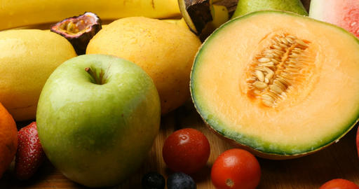 Fruits fresh food natural agriculture crops GIF
