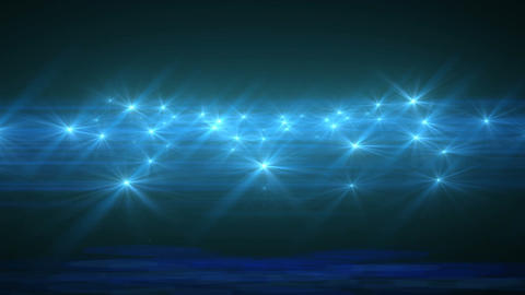 Light Blue Abstract Particle Effect Flashing Light VJ Background stock footage