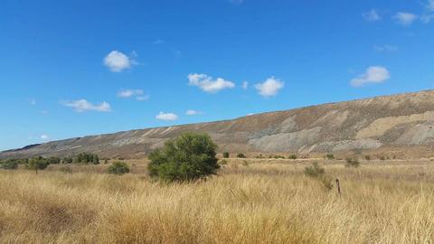 Open Cut Coal Mining In Australian stock footage