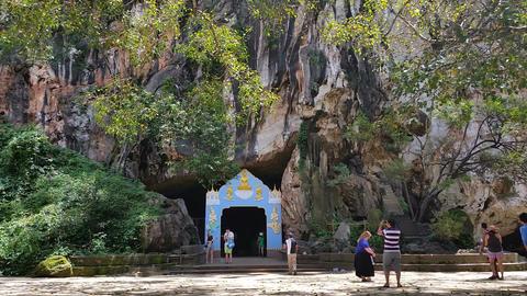 Asia Wat Suwannakuha (Monkey temple) Thailand Footage