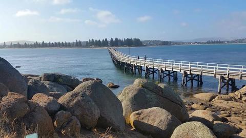 VICTOR HARBOR, AUSTRALIA - JANUARY 2015 stock footage