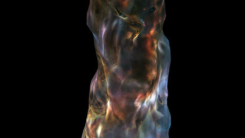 Big Bang Universe Cosmos Spacetime Animation stock footage