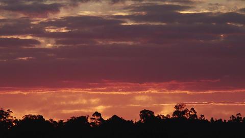 Australia Country Sunet Footage