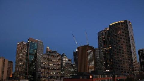 Sydney City Skyline Footage