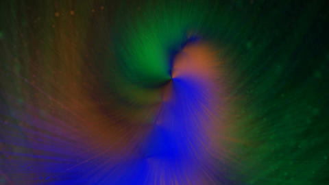 Color Tunnel Vortex: Looping Animation