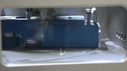 3d Printer - Titanium 3D Printing Technology, Live Action