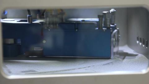 3d Printer - Titanium 3D Printing Technology Stock Video Footage