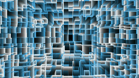 Blue Abstract Background Animation VJ DJ Footage