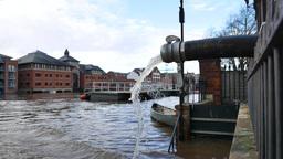 York Floods circa December 2015 Footage