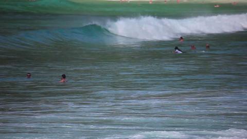 Waves od Andaman sea Footage