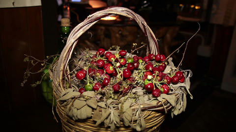 decoration dried cherry Live Action